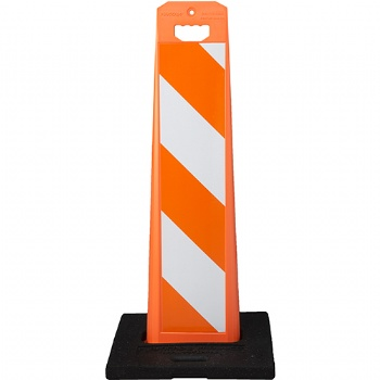 Vertical Pannel Base For Traffic Safety And Direction